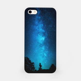 BLU NIGHT iPhone Case obraz miniatury