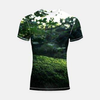Thumbnail image of SECRET Shortsleeve Rashguard, Live Heroes