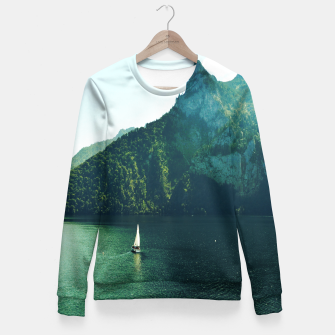 Thumbnail image of SUMMER TIME Fitted Waist Sweater, Live Heroes