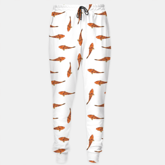 Thumbnail image of Koi Fishes Motif Pattern Sweatpants, Live Heroes