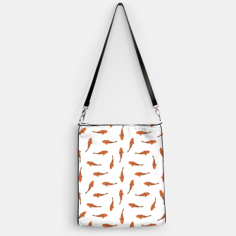 Koi Fishes Motif Pattern Handbag miniature