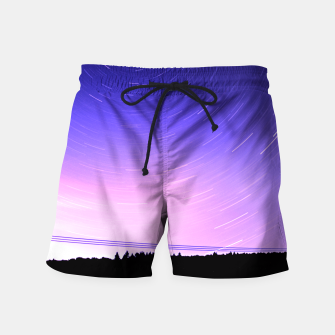 Thumbnail image of STAR TRAILS Swim Shorts, Live Heroes