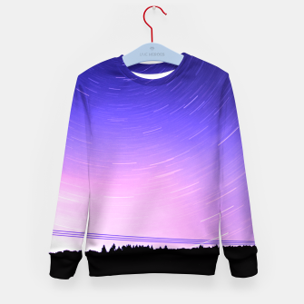 Thumbnail image of STAR TRAILS Kid's Sweater, Live Heroes