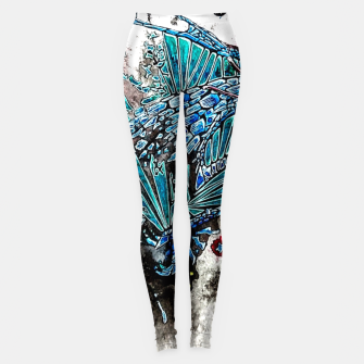 Thumbnail image of Blue Dragon Leggings, Live Heroes