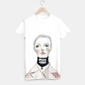 Miniaturka KENZO fashion illustration T-shirt, Live Heroes