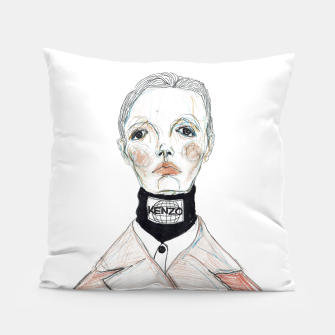 Miniaturka KENZO fashion illustration Pillow, Live Heroes
