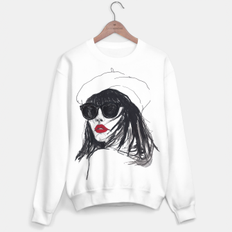 Miniaturka Taylor Lashae Fashion Illustration Sweater regular, Live Heroes