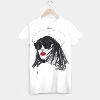Miniaturka Taylor Lashae Fashion Illustration T-shirt, Live Heroes