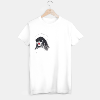 Miniaturka Taylor Lashae Fashion Illustration T-shirt regular, Live Heroes