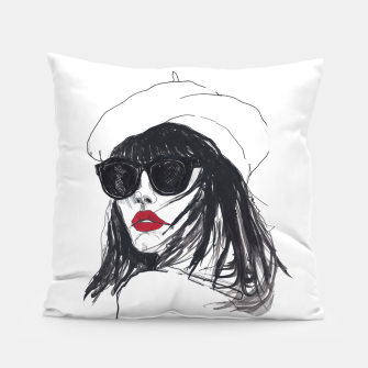Miniaturka Taylor Lashae Fashion Illustration Pillow, Live Heroes