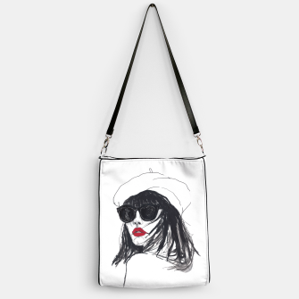 Miniaturka Taylor Lashae Fashion Illustration Handbag, Live Heroes