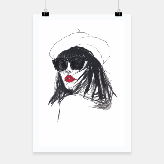 Thumbnail image of Taylor Lashae Fashion Illustration Poster, Live Heroes