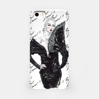 Miniaturka Saint Laurent Fashion Illustration iPhone Case, Live Heroes