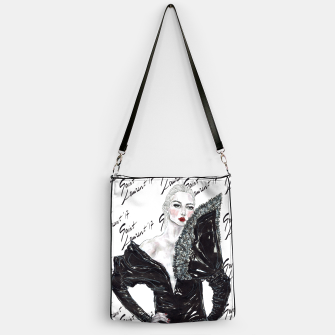 Miniaturka Saint Laurent Fashion Illustration Handbag, Live Heroes
