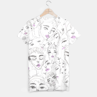 Miniaturka Fashion Sketchbook  T-shirt, Live Heroes