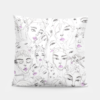 Miniaturka Fashion Sketchbook  Pillow, Live Heroes