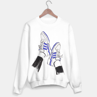 Miniaturka Adidas Sneakers Fashion Illustration Sweater regular, Live Heroes