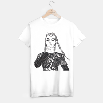 Miniaturka FKA Twigs Fashion Illustration T-shirt regular, Live Heroes