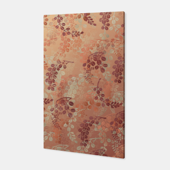 Thumbnail image of Japanese traditional Kamon decoration bush clover Canvas, Live Heroes