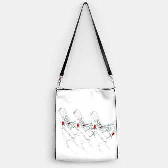 Miniaturka Telephone Fashion Illustration Handbag, Live Heroes