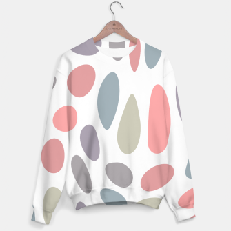 Thumbnail image of Colorful pastel pebbles Sweater, Live Heroes