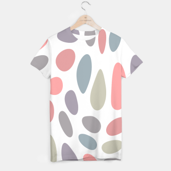 Thumbnail image of Colorful pastel pebbles T-shirt, Live Heroes