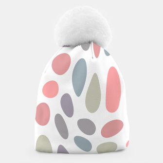 Thumbnail image of Colorful pastel pebbles Beanie, Live Heroes