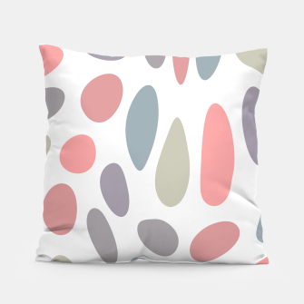 Miniature de image de Colorful pastel pebbles Pillow, Live Heroes