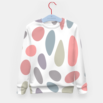 Miniature de image de Colorful pastel pebbles Kid's Sweater, Live Heroes