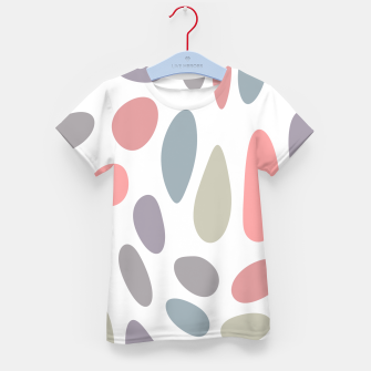 Thumbnail image of Colorful pastel pebbles Kid's T-shirt, Live Heroes