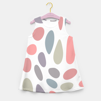 Thumbnail image of Colorful pastel pebbles Girl's Summer Dress, Live Heroes