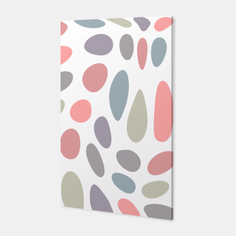 Thumbnail image of Colorful pastel pebbles Canvas, Live Heroes