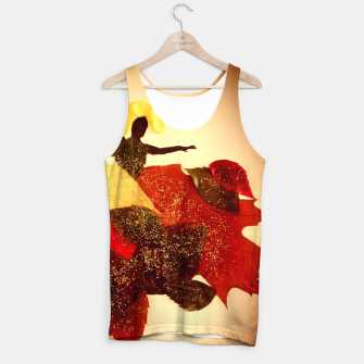 Miniatur autumn lady Tank Top, Live Heroes