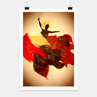 Thumbnail image of autumn lady Plakat, Live Heroes