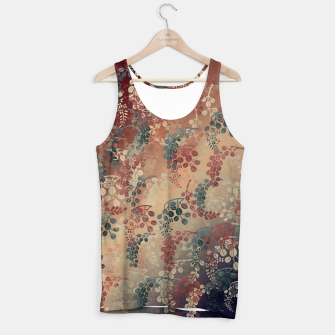 Miniatur Japanese traditional Kamon decoration bush clover Tank Top, Live Heroes