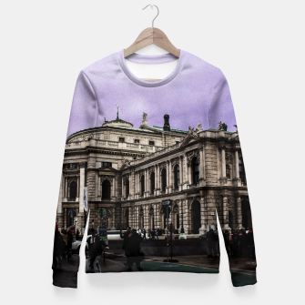 Miniaturka MONUMENTAL Fitted Waist Sweater, Live Heroes