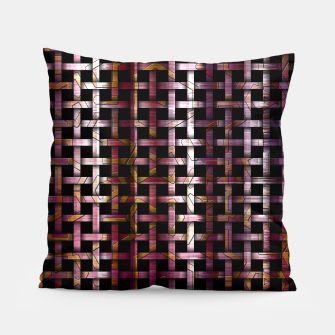Thumbnail image of Wind Glyph Weave Pillow, Live Heroes