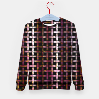 Miniature de image de Wind Glyph Weave Kid's Sweater, Live Heroes