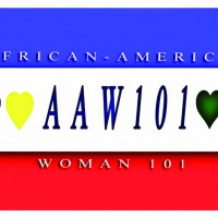 African-American Woman101 logo, Live Heroes