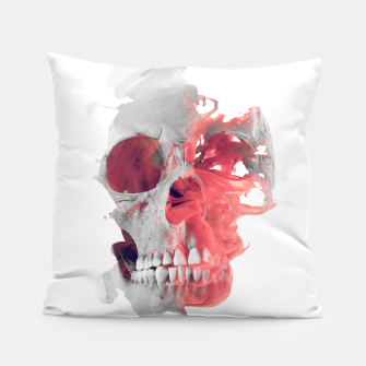 Thumbnail image of Skull Smoke 2 Pillow, Live Heroes