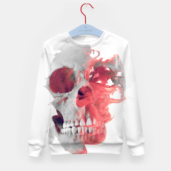 Miniature de image de Skull Smoke 2 Kid's Sweater, Live Heroes