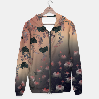 Miniatur Japanesque flower decoration Hoodie, Live Heroes