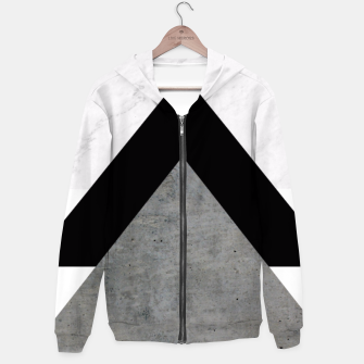 Miniatur Arrows Collages Monochrome  Hoodie, Live Heroes