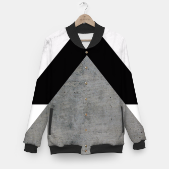 Thumbnail image of Arrows Collages Monochrome  Baseball Jacket, Live Heroes