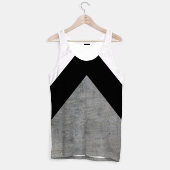 Miniatur Arrows Collages Monochrome  Tank Top, Live Heroes
