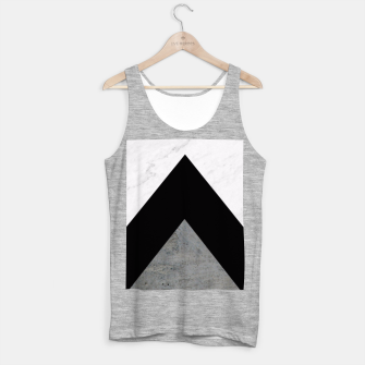 Thumbnail image of Arrows Collages Monochrome  Tank Top regular, Live Heroes
