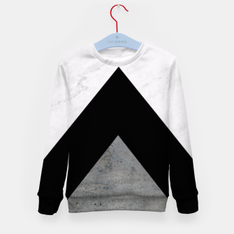 Miniature de image de Arrows Collages Monochrome  Kid's Sweater, Live Heroes