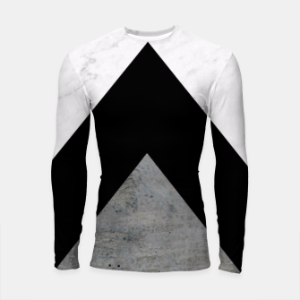 Miniature de image de Arrows Collages Monochrome  Longsleeve Rashguard , Live Heroes