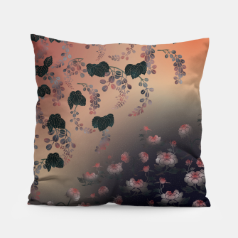 Thumbnail image of Japanesque flower decoration Pillow, Live Heroes