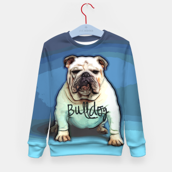 Miniature de image de  British Bulldog Kid's Sweater, Live Heroes